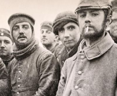 25th December 1914: The Christmas Truce takes place at sections along the Western Front