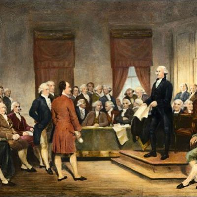 8th January 1790: George Washington delivers the first State of the Union Address