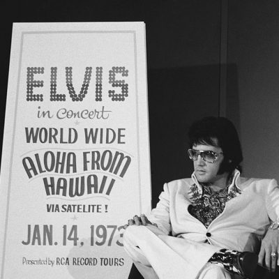 14th January 1973: Elvis Presley makes the first solo headline satellite broadcast in Aloha From Hawaii