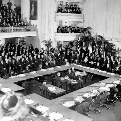 18th January 1919: The Paris Peace Conference begins at the Palace of Versailles