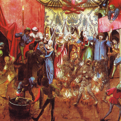 28th January 1393: Charles VI of France and the Bal des Ardents