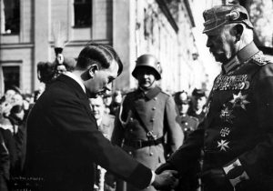 Hindenburg makes Hitler Chancellor of Germany