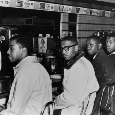 1st February 1960: Start of the Greensboro sit-ins to protest segregation