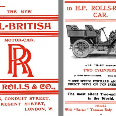 15th March 1906: Rolls-Royce Limited established in Britain