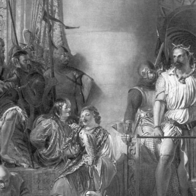 5th August 1305: William Wallace captured by English troops at Robroyston