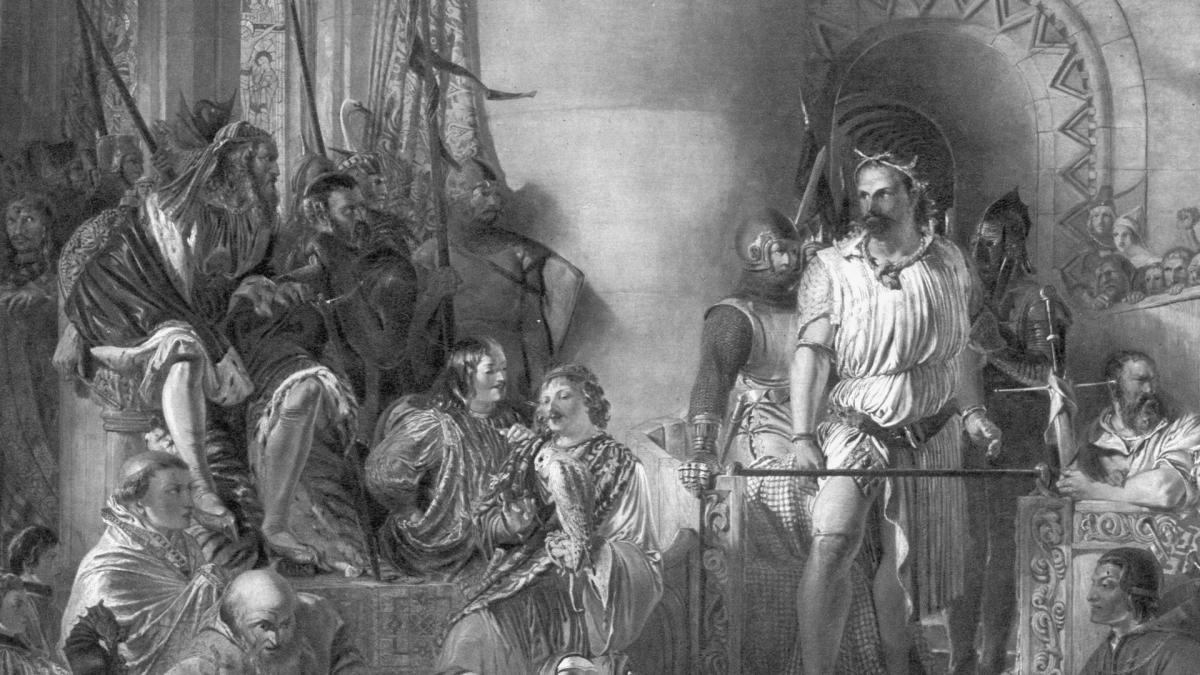 5th August 1305 William Wallace Captured By English Troops At