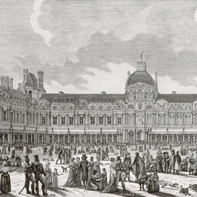10th August 1793: The Louvre museum in Paris opens to the public for the first time