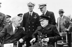 Roosevelt and Churchill - the Atlantic Charter