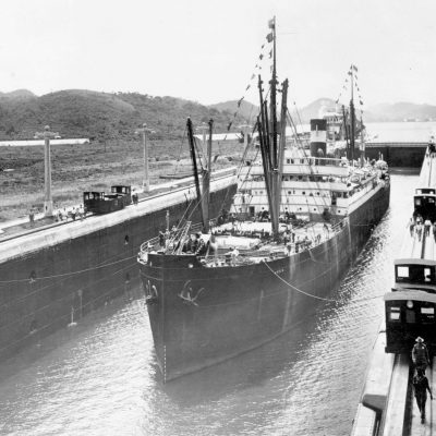 15th August 1914: The Panama Canal officially opened with the transit of SS Ancon
