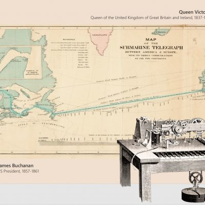 16th August 1858: Queen Victoria sends the first transatlantic telegram