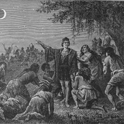 29th February 1504: Christopher Columbus uses knowledge of a lunar eclipse to secure supplies while stranded on Jamaica