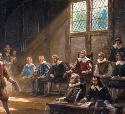 30th July 1619: The General Assembly of Virginia, the oldest continuous elected assembly in the New World, convenes for the first time