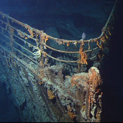 1st September 1985: Wreck of the Titanic discovered by a team led by Robert Ballard
