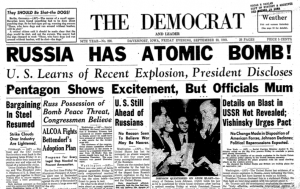 Russia has the atomic bomb