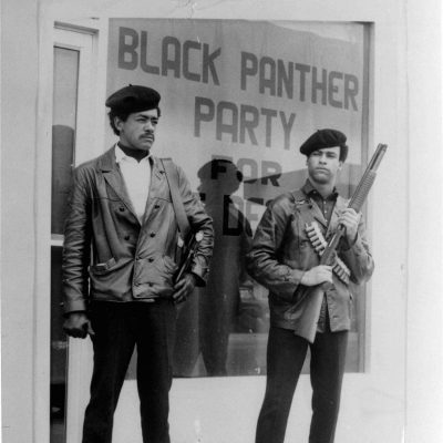 15th October 1966: The Black Panther Party founded in Oakland, California by Huey Newton and Bobby Seale