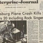 Lynyrd Skynyrd plane crash newspaper