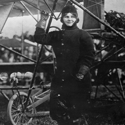 23rd October 1910: Blanche Stuart Scott becomes the first American woman to pilot an aircraft in public