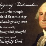 Thanksgiving Proclamation 1789