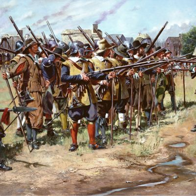 13th December 1636: The Massachusetts Bay Colony organised a formal militia, laying the foundations for the US National Guard