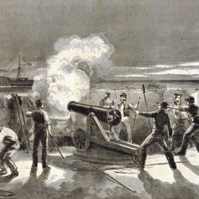 9th January 1861: Star of the West fired upon by South Carolina batteries as it approached Fort Sumter