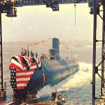 Launch of USS Nautilus