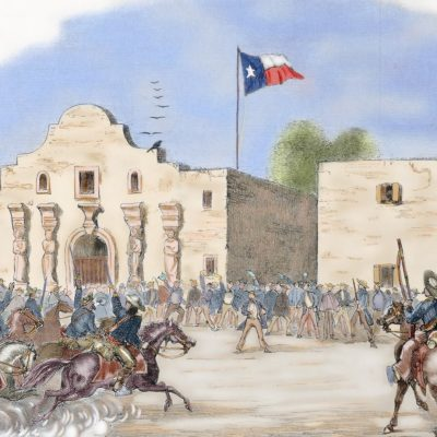 23rd February 1836: The Siege of the Alamo begins, lasting for thirteen days before the final battle