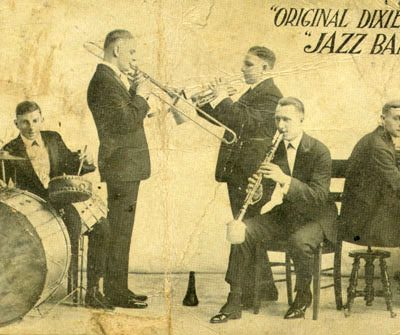 26th February 1917: The Original Dixieland 'Jass' Band makes the first commercially released jazz recording