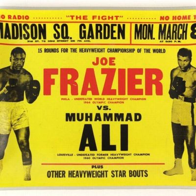 8th March 1971: Muhammad Ali and Joe Frazier faced each other in the 'Fight of the Century'