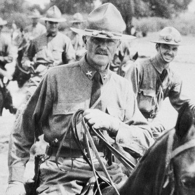 15th March 1916: U.S. General Pershing led the Punitive Expedition into Mexico to locate revolutionary leader Pancho Villa
