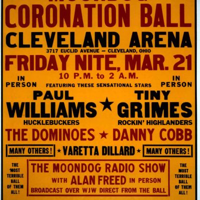 21st March 1952: Moondog Coronation Ball, the first rock and roll concert, takes place in Cleveland, Ohio