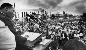 End of Selma to Montgomery March