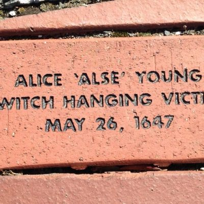 26th May 1647: Alse Young of Windsor, Connecticut, is the first person to be executed for witchcraft in America