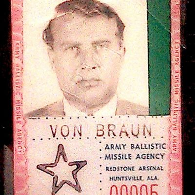 20th June 1945: The United States approves the transfer of Nazi rocket scientist Wernher von Braun to America