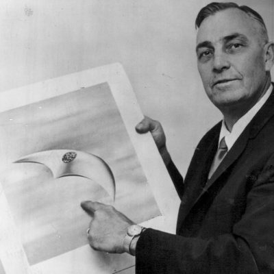 24th June 1947: The first widely-reported UFO sighting was made by private pilot Kenneth Arnold