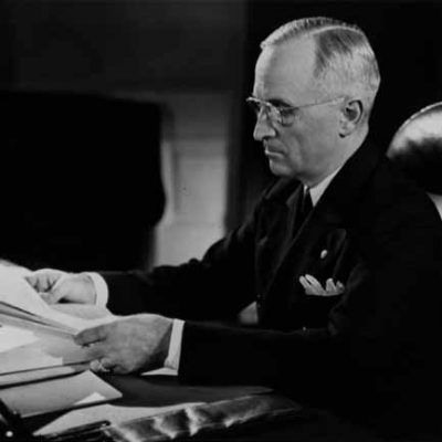 24th September 1946: 'Containment' first suggested to President Truman in a report by Clark Clifford and George Elsey