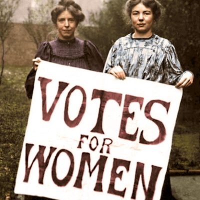 10th October 1903: Foundation of Women's Social & Political Union, known as the Suffragettes